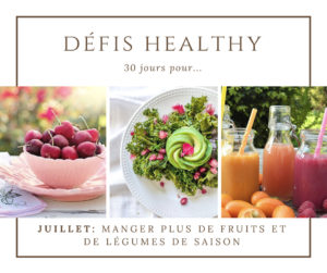 [DÉFI HEALTHY] Fruits et légumes: la solution anti gaspillage! #3