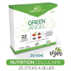 MICRO NUTRITION – Green Angel 22 super aliments