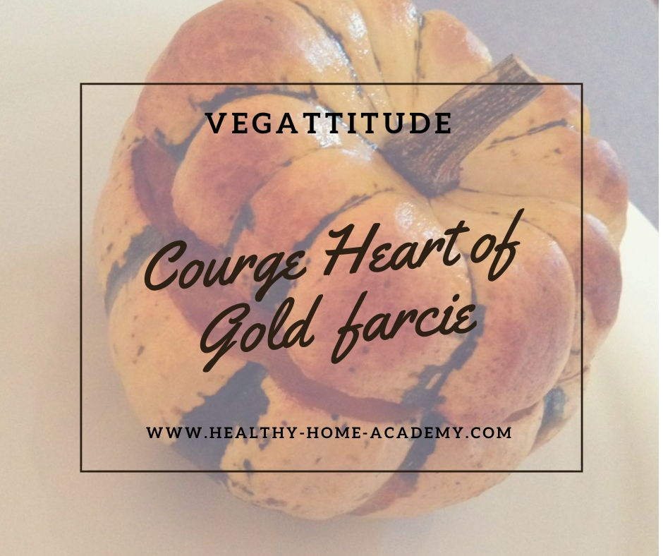 Courge heart of gold farcie