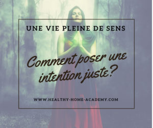 Comment poser une intention
